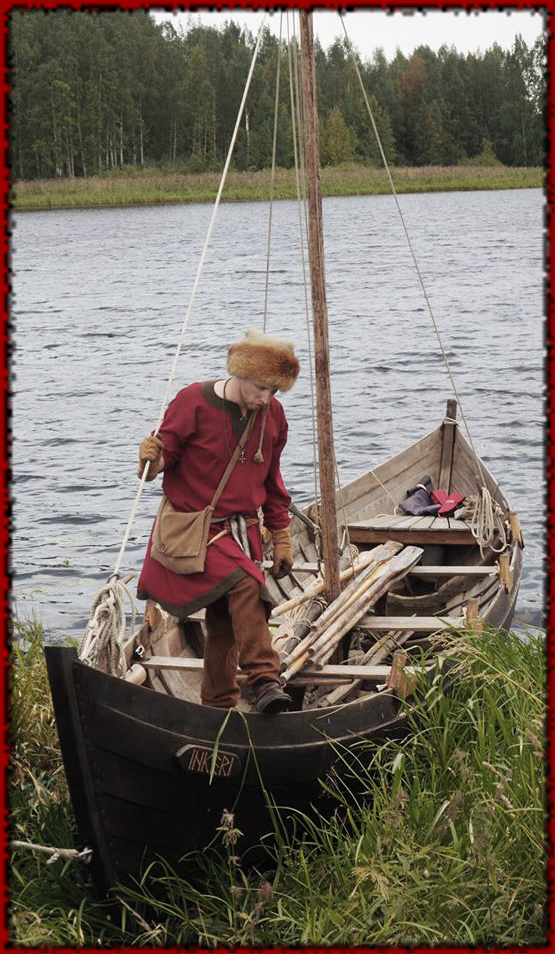 Pikku-Jaakko and the viking boat Inkeri